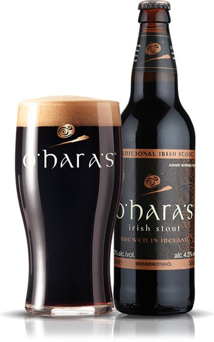 O'Hara's – Irish Stout Carlow Brewing co