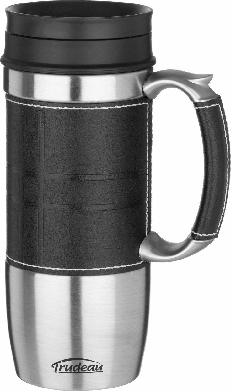 Amazon aladdin coffee mugs - Amazon Com Trudeau Executive Boardroom 16 Ounce Travel Mug Black Kitchen