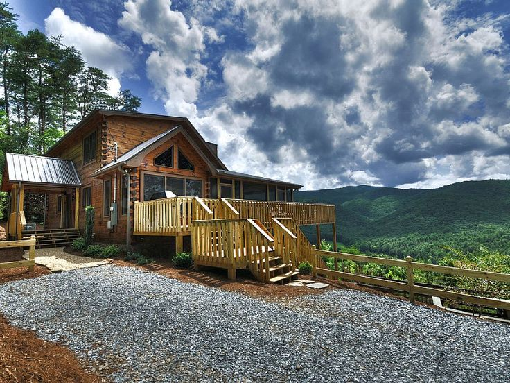 Blue Ridge Cabin Rental: Amazing Mountain Views, Best In Blue Ridge! Hot Tub, Secluded, Pets Ok, Wifi | HomeAway Vacation Rentals Laurel Ridge. JT-YouTube.