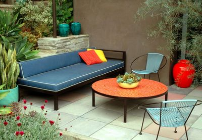 Vintage Garden Furniture.   Repinned by Secret Design Studio, Melbourne.  www.secretdesignstudio.com