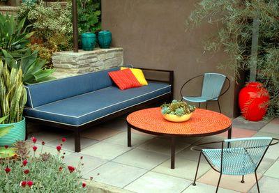 Vintage Garden Furniture.   Repinned by Secret Design Studio, Melbourne.  www.secretdesignstudio.com