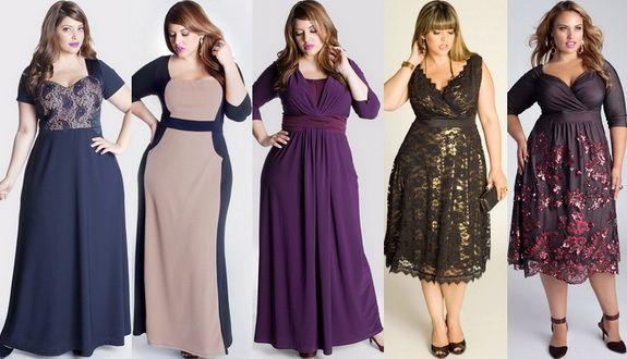 Мода для полных 2015: 62 фото для пышных женщин
