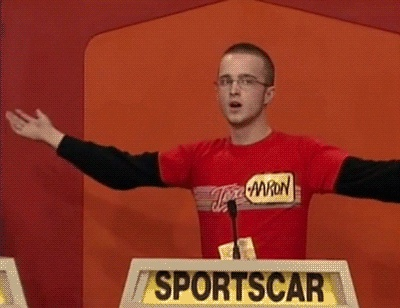 14 years ago, Aaron Paul was a contestant on The Price Is Right. He made it to the Showcase Showdown and overbid.