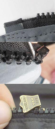 Les 25 meilleures id es concernant r parer une fermeture glissi re sur pinterest r parations - Comment reparer fermeture eclair ...