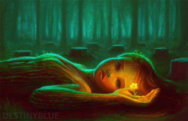 grow again by destinyblue - Sweet Digital Art by DestinyBlue  <3 <3