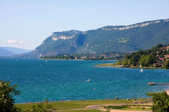 le lac du Bourget, le plus grand de France
