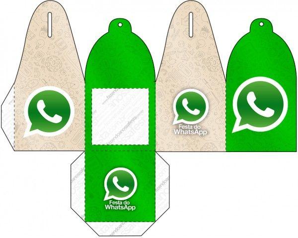 WhatsApp: Cajas para Imprimir Gratis.