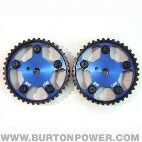 Kent Cams adjustable alloy camshaft pulleys : Ford Zetec E, pair