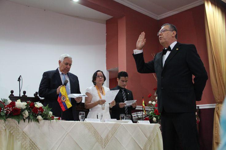 Posesión de Edgar Parra Chacón como nuevo Rector de #Unicartagena