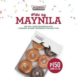 Krispy Kreme Araw ng Maynila