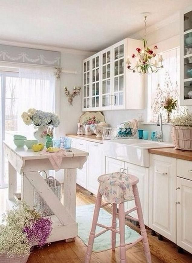 How To Achieve The Shabby Chic Look For Your Kitchen