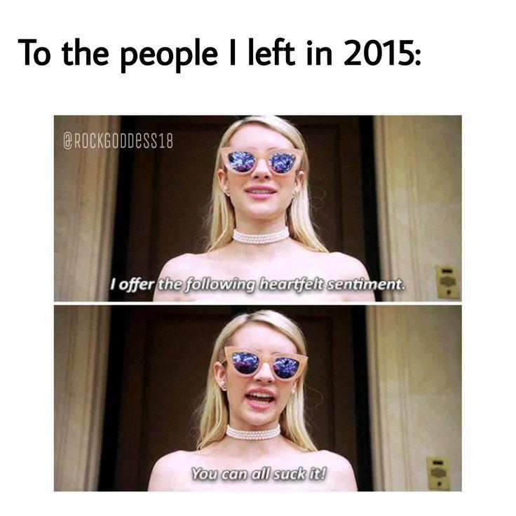That's right haha t(^_^t) #ScreamQueens meme