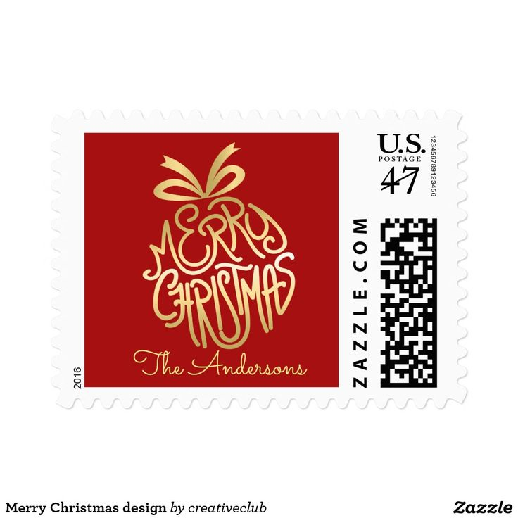 Merry Christmas design #merrychristmas #happyholidays #seasonsgreetings #christmasstamp