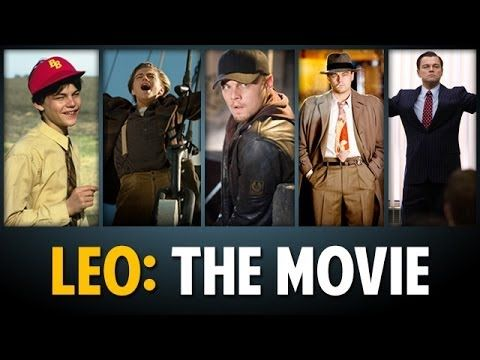 Leo DiCaprio: The Movie, Different Leonardo DiCaprio Films Mashed Up Into One Epic Story i would watch the shit out of this.