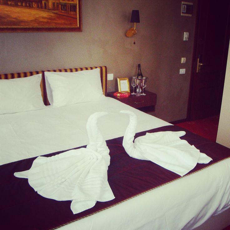 Camera dubla hotel 4 stele in așteptarea turiștilor îndrăgostiți