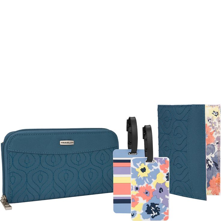 Travelon RFID Wallet, Passport Case and Luggage Tag Travel Set - eBags.com