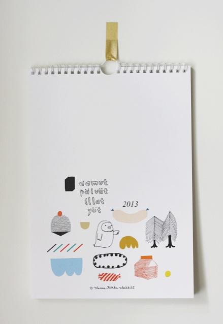 nice calendar Kanelikauppa