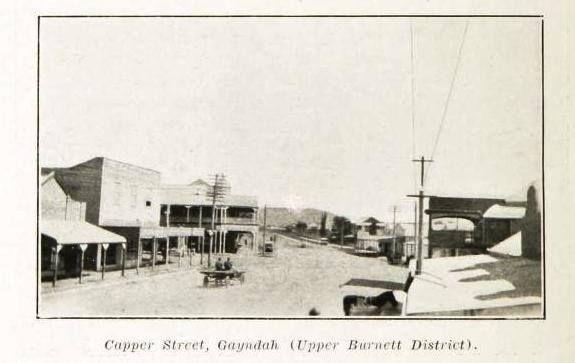 Capper Street, Gayndah 1923