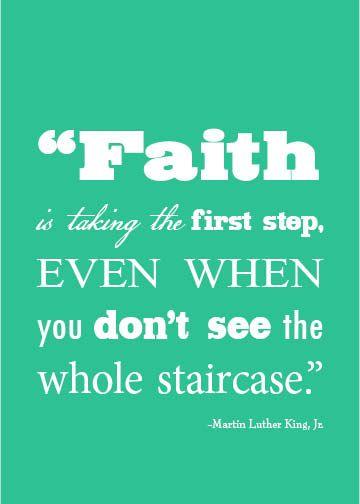 """""""Faith is..."""""""