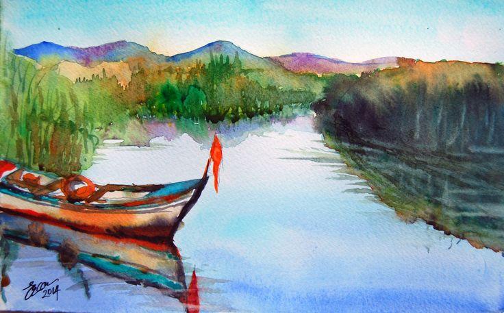 Boat in Lake İznik