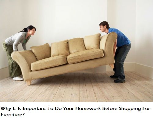 Why It Is Important To Do Your Homework Before Shopping For Furniture?