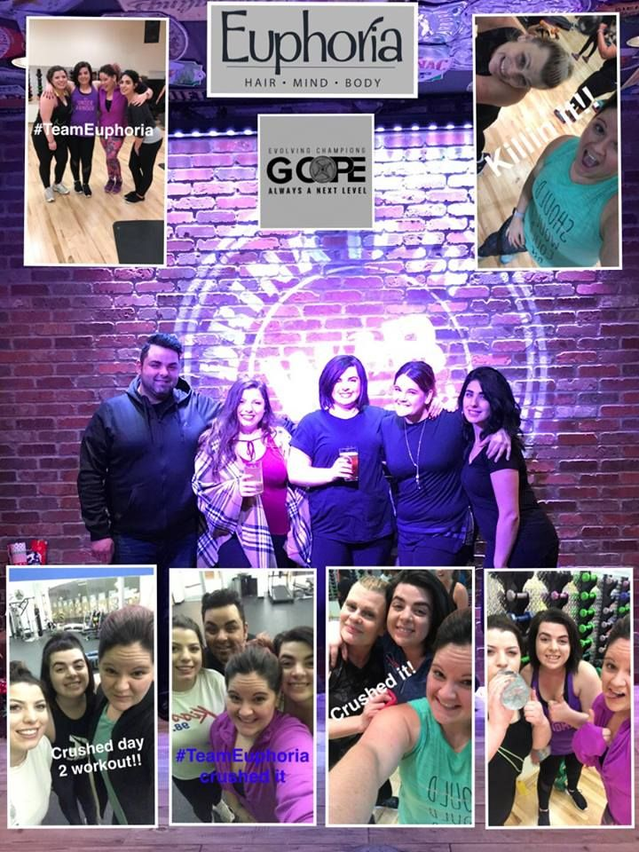 At Euphoria, we are constantly promoting healthy hair and healthy skin - but we cannot forget about a healthy mind and body, too! Team Euphoria is getting fit with GCOPE Fitness and we are loving every second of feeling confident and pushing each other to being our best versions!