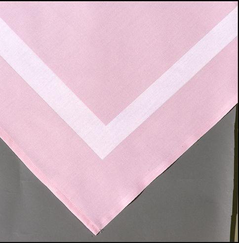 Pink Frette Linen