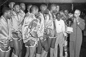 The forgotten Hoosiers. The 1955 Crispus Attucks basketball team was the first all black team to win a state championship in the nation. The State of Indian built the high school in 1927 because they did not want black teachers teaching white students. The High school was known for it's academic excellence and was 2nd to none.