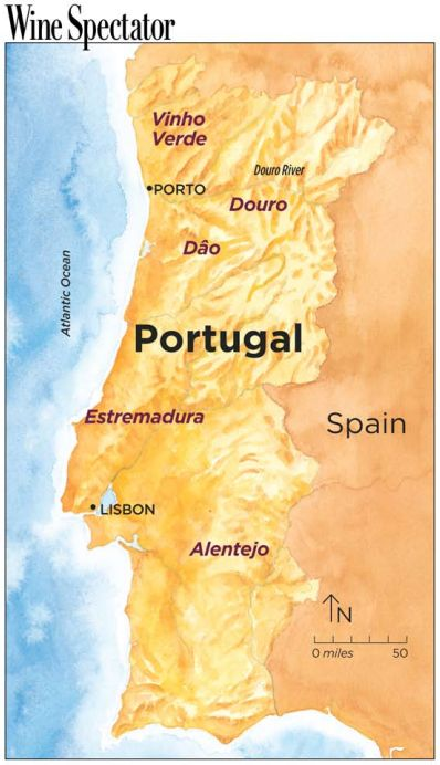 The Wine Regions of Portugal