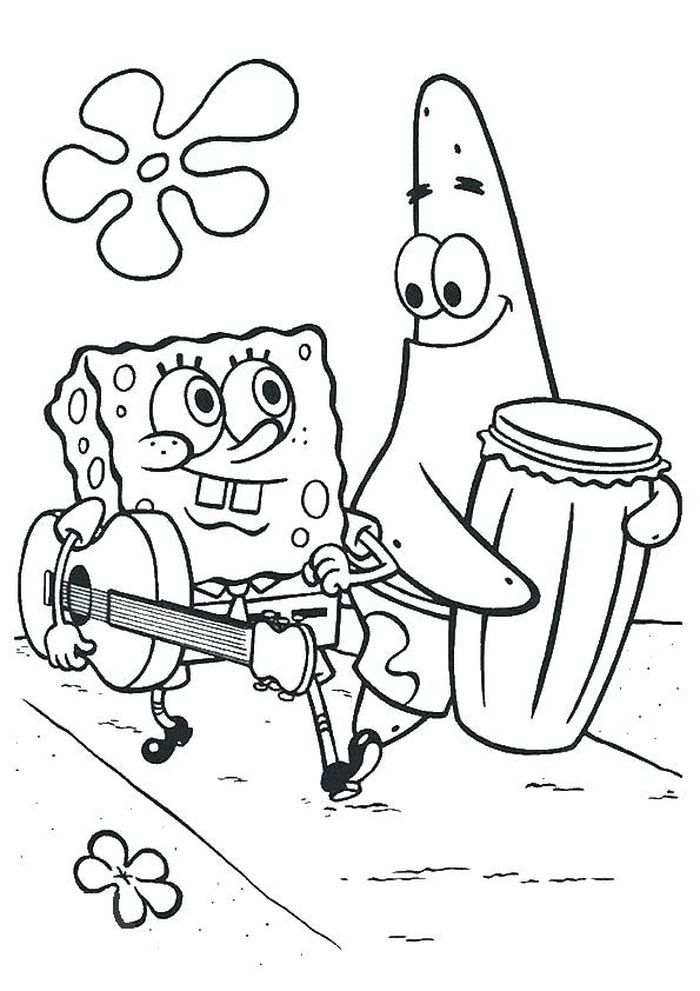 Spongebob Coloring Pages In 2020 With Images Spongebob