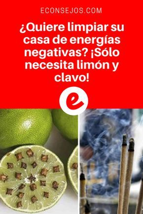 Energía positiva |¿Quiere limpiar su casa de energías negativas? ¡Sólo necesita limón y clavo! | ¡Lo hago ahora mismo! ¡Vale la pena intentarlo!