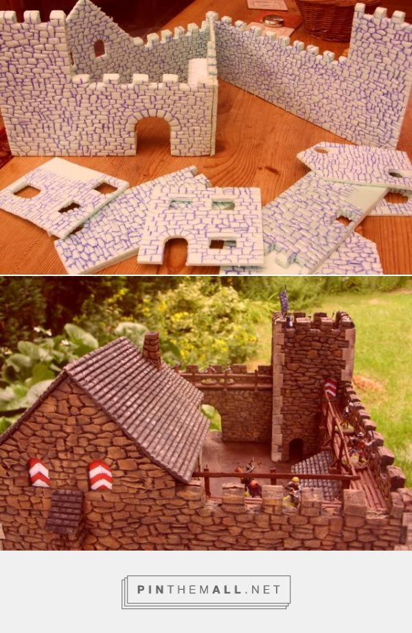 Medieval scenery and accessories » Hugh Jarse´s castle - created via http://pinthemall.net