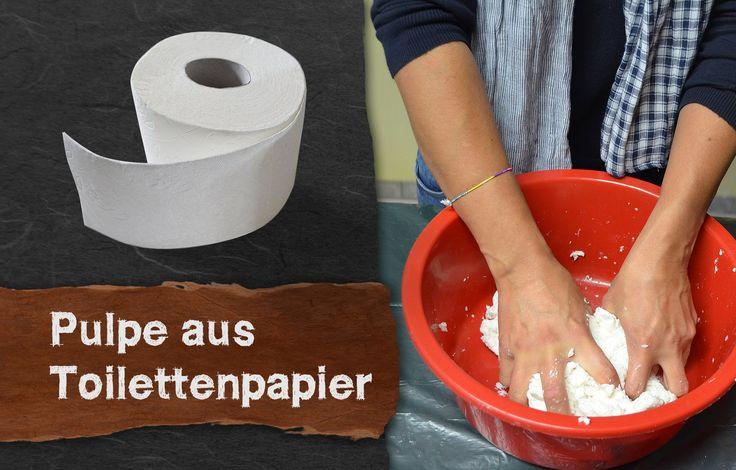 In diesem Video zeige ich Ihnen wie man Pappmaché (Pulpe) einfach aus Toilettenpapier, Kleister und Holzleim machen kann. Bei Toilettenpapier fällt das mühsa...