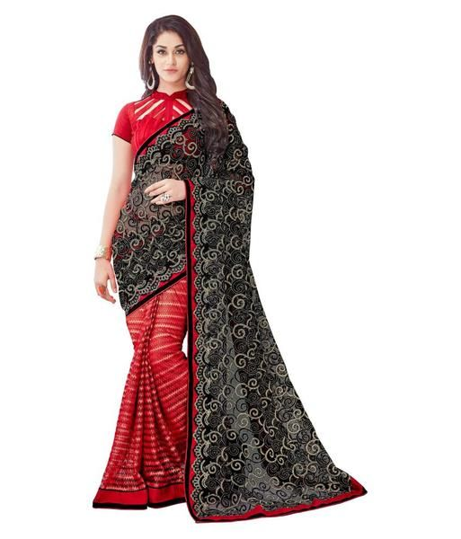Black & Red Color Net Saree With Lace And Embroidery Work Designer Net Sarees https://ladyindia.com/collections/net-sarees/products/black-red-color-net-saree-with-lace-and-embroidery-work-designer-net-sarees #saree #netsaree #designersaree #designersaree