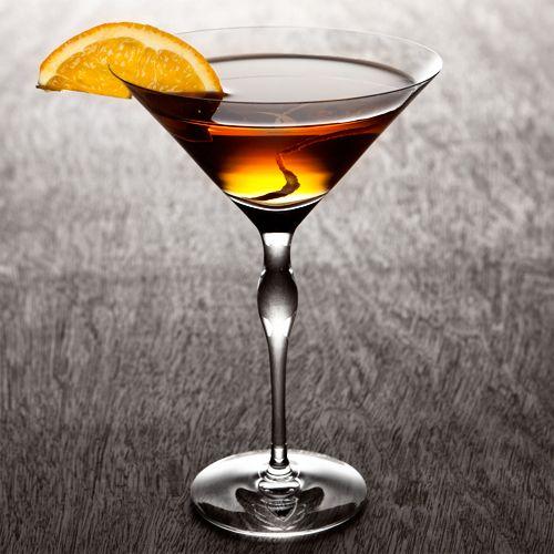 Side Car: 2 Orange slices, 2 Fresh basil leaves, Splash of agave nectar, 1.5 oz Chardonnay wine, .5 oz Brandy, Grand Marnier Garnish: Orange twist and orange slice Glass: Martini