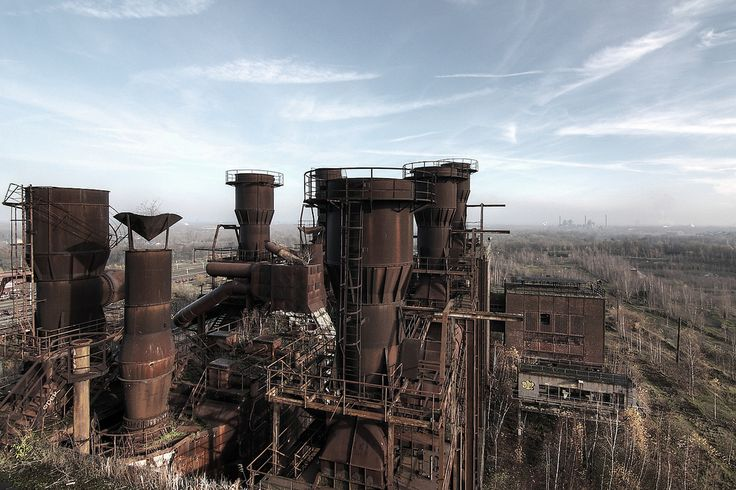Industrial landscape / Industrielandschaft | On tour with ...
