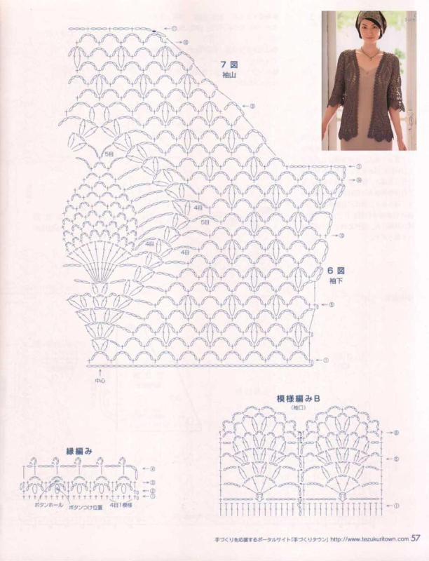 几款不错的钩衣 - yanerqingqing1970