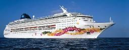Debt-free destination: One of Norwegian Cruise Line's most famous ships, the Sky, offers four-night Bahamas cruises out of Miami at $99 per person. Read the full report here: http://www.cheapism.com/cheap-cruises/240_norwegian_sky_cruises