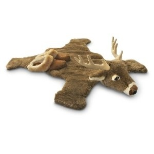 Plush Deer Rug... i want one for when I have a little one