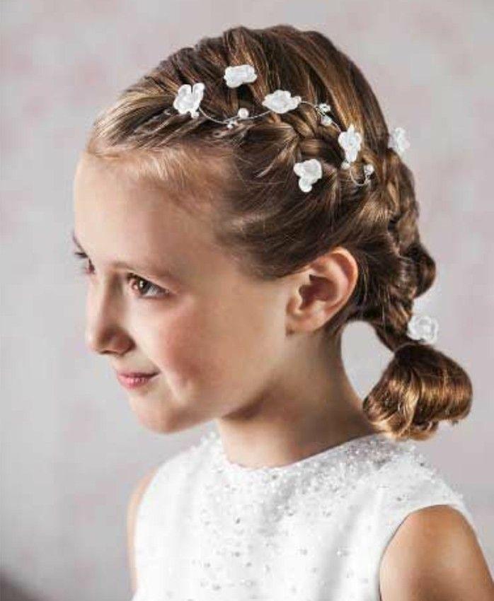 11++ Idee coiffure communion fille idees en 2021