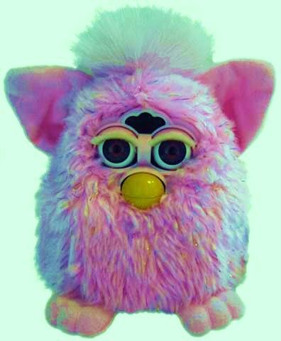 Furby // I used to have a black and white one and it had brain damage