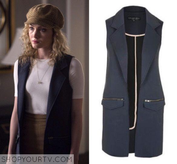 Scream Queens: Season 1 Episode 6 Grace's Long Sleeveless Jacket