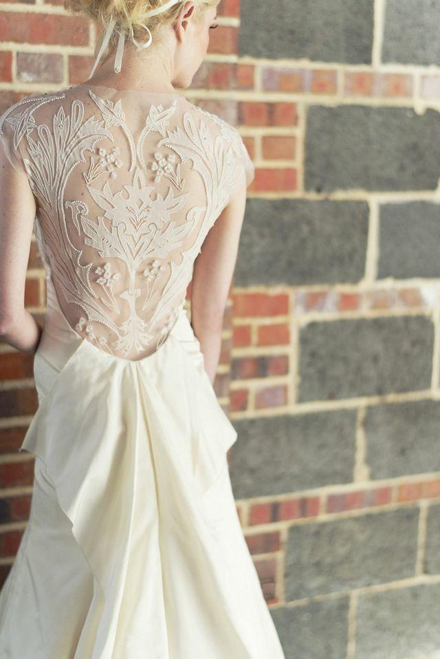 Lela Rose Tompkins Square #wedding dress | Adonye Jaja Photography | see more on: http://burnettsboards.com/2014/03/8-artistic-bridal-styles/