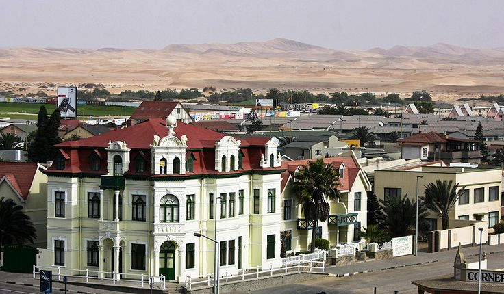 Swakopmund, Namibia (it's like Little Germany on the edge of an African desert!)