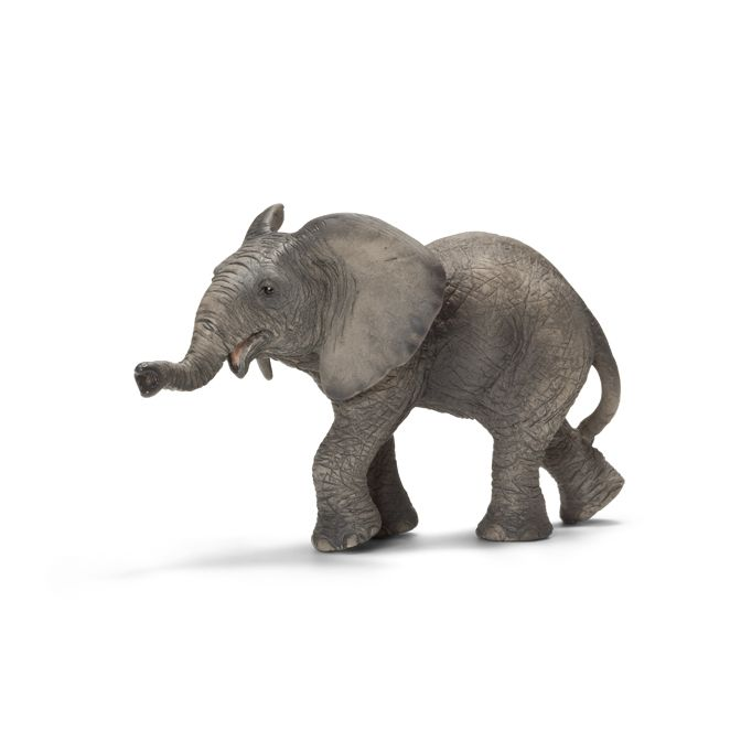 ___African Elephant, calf____ Schleich Figurine available at Fantaztic Learning Store Canada - shop.fantazticcatalog.com