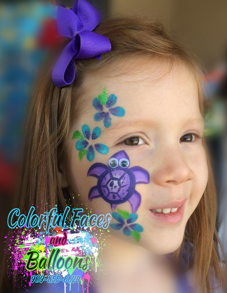 Turtle face painting,  face paint, Colorful Faces by avie  - Face Painting in Redlands, California & Surrounding Cities, balloon twisting, balloontwisting, parties, party ideas, parties for boys, parties for girls, Colorful Faces by Avie, Colorful Faces and Balloons