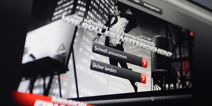 Mission Finanz-Check    Die Mission Finanz-Check gehört zu den erfolgreichsten Sparkassen-Kampagnen. Die witzigen TV-Spots mit Jürgen Vogel sollten auch im Online- und Mobile Kanal aufmerksamkeitsstark verlängert werden. Mehr noch: Über eine intelligente Logik sollten Kunden zu einem Beratungstermin übergeleitet werden. Und: Das Konzept sollte auch mobil funktionieren. Unser Maßnahmenpaket war reichhaltig.  Check: http://www.golden-alligator.com/de/work/item/id/3