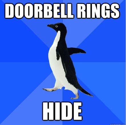 lol.. this is me: Social Awkward Penguins, Memes, Life, Laugh, Funny Stuff, Humor, Things, Funnystuff, True Stories