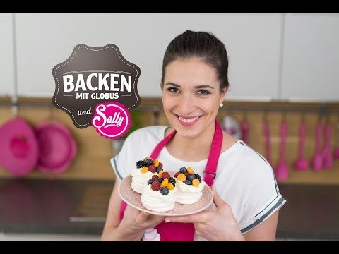 neu rezept f r mini pavlova backen mit globus sallys. Black Bedroom Furniture Sets. Home Design Ideas