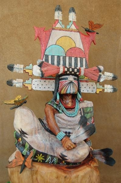 HOPI INDIAN BUTTERFLY MAIDEN KACHINA DOLL by Milton Howard
